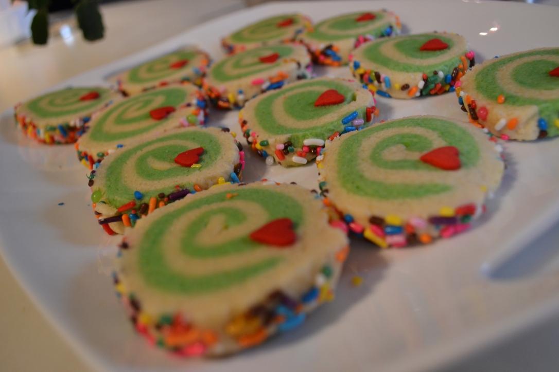 The Grinch Sugar Swirl Cookies The Backroads Homemaker